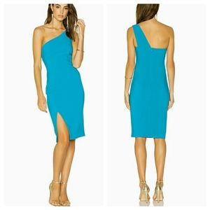 NWT LIKELY Helena One Shoulder Cocktail Dress